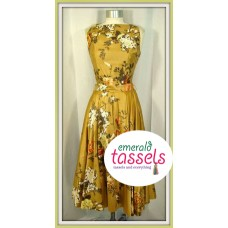 Flower off gown