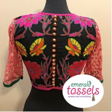 back embroidery