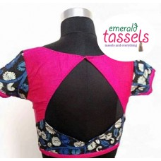 black with pink backdesing