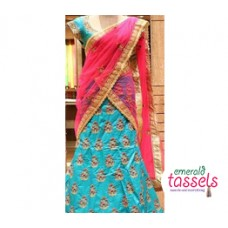 Bridal Half Saree Design